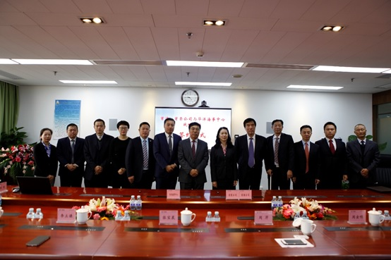 Huayang Maritime Center signed a cooperation agreement with CSGI- affiliated companies: Beijing Shouhai and Beijing Shourong